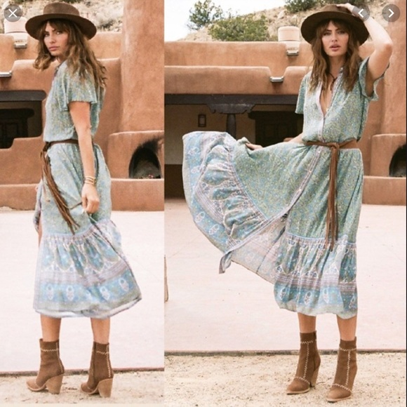 Spell & The Gypsy Collective Dresses & Skirts - Spell Design Jasmine Midi Dress Size XS.